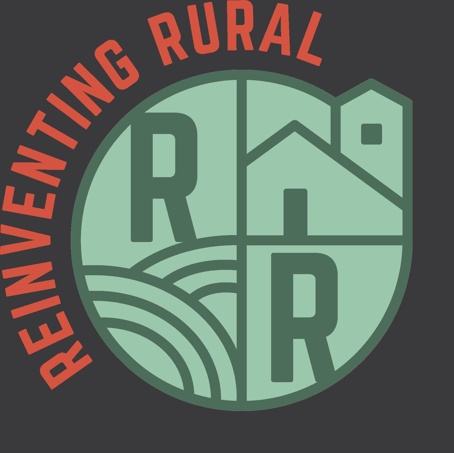 Reinventing Rural Circular Logo w URL