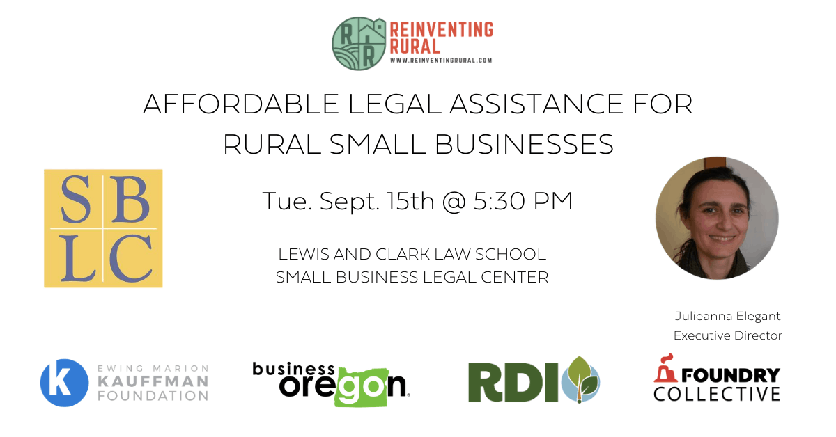 Affordable Legal Assistance for Rural Small Businesses