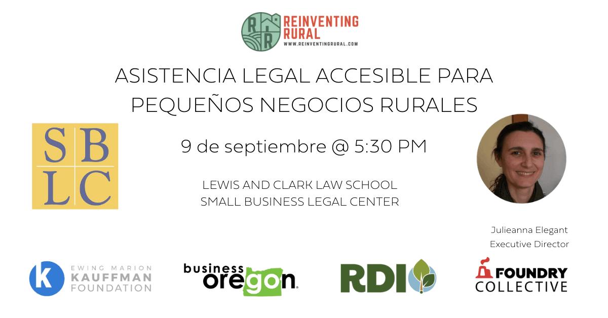 Asistencia Legal Accesible para Pequeños Negocios Rurales