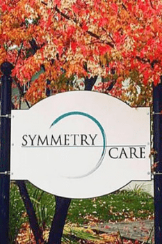 Symmetry Care Sign