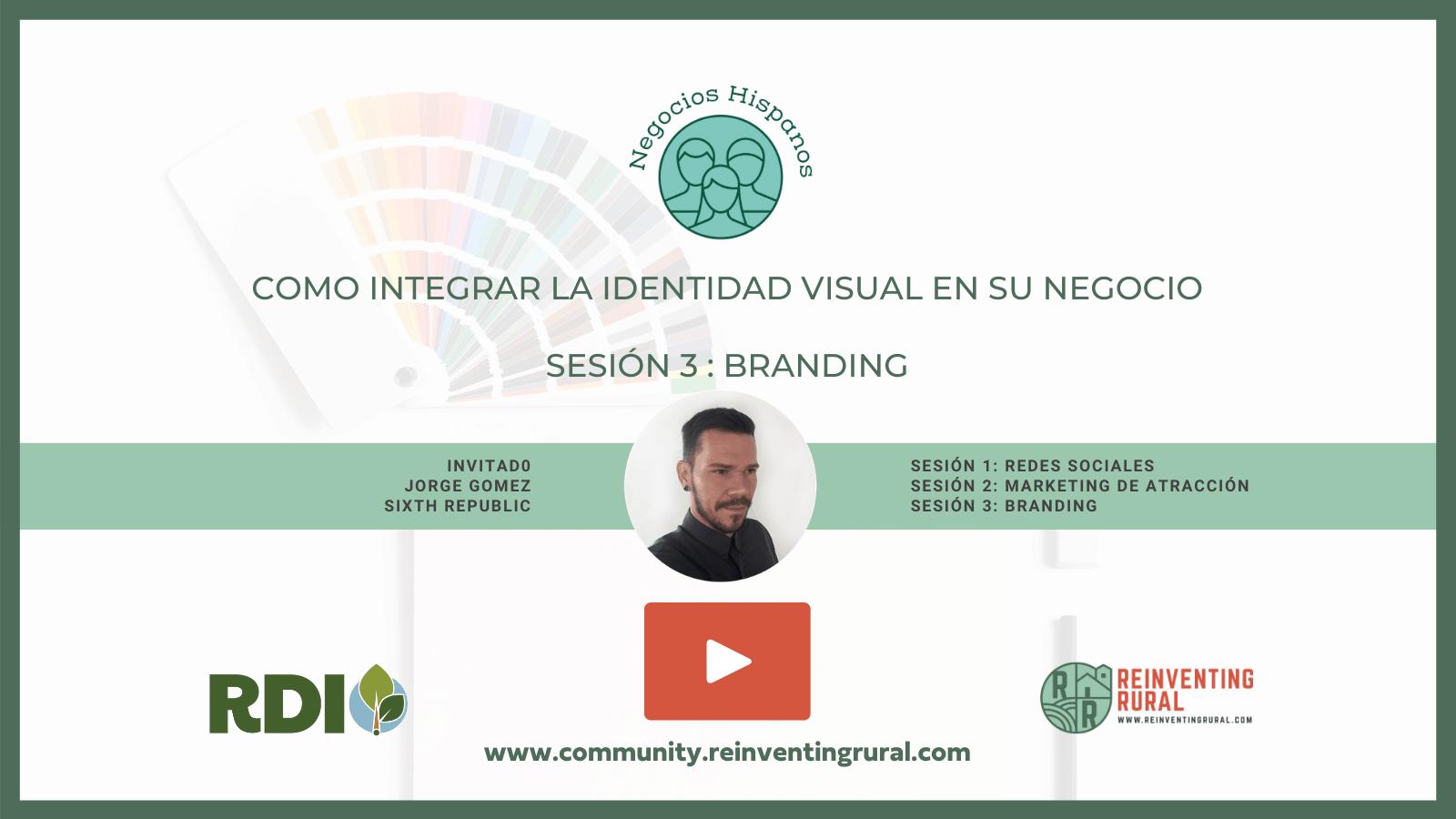Sesion 3 Como Integrar la Identidad Visual en su Negocio Play Button
