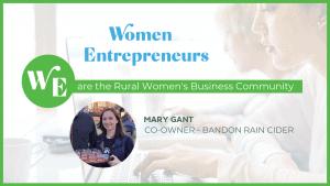 Mary Gant Bandon Rain Cider