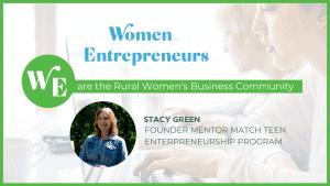 Stacy Green Mentor Match Teen Entrepreneurship